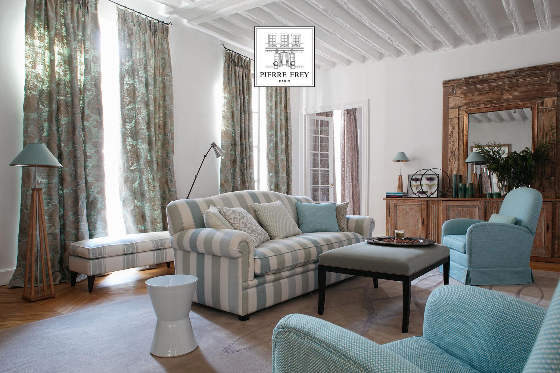 pierre frey c interieur. Black Bedroom Furniture Sets. Home Design Ideas