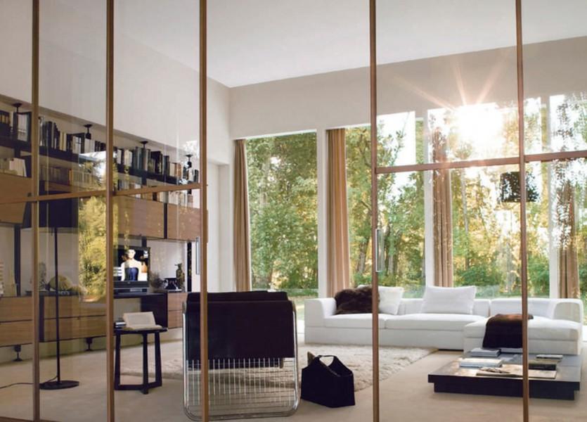 porte interieur coulissante bois simple