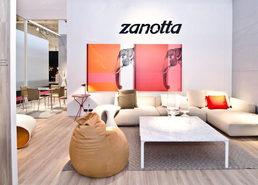 Zanotta Products Design at Now Design 2013 Paris