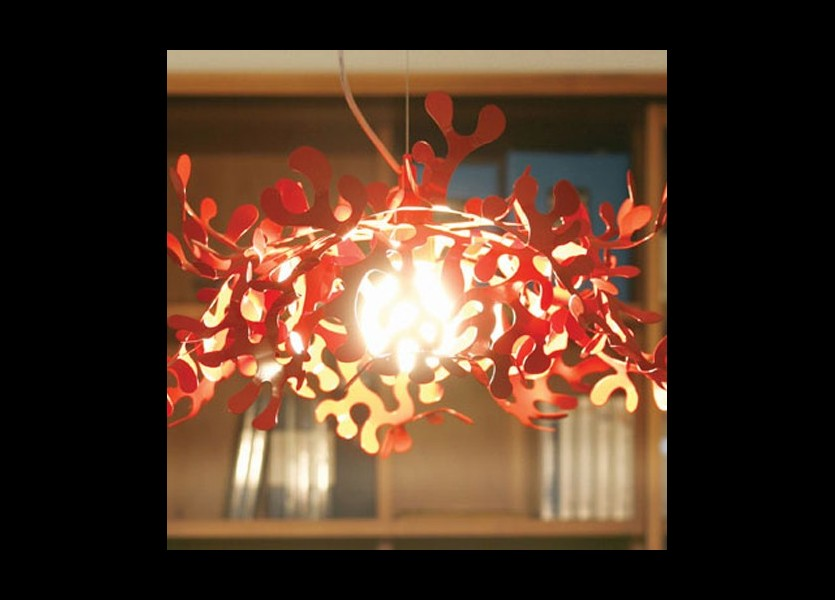 leaves s suspension lumen center italia rouge 2 1