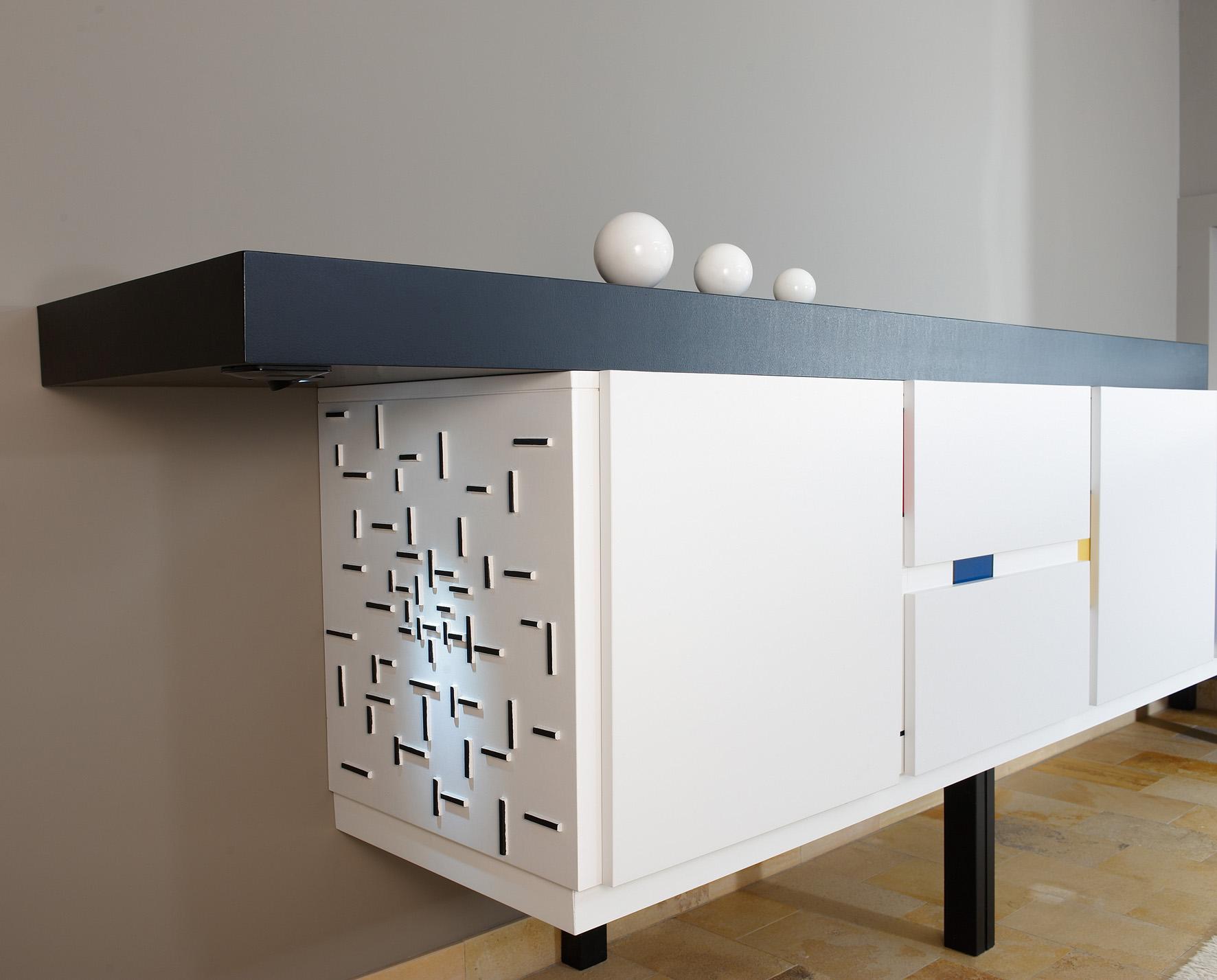 meuble mondrian c interieur. Black Bedroom Furniture Sets. Home Design Ideas